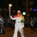КОНАР встретил эстафету олимпийского огня в Челябинске