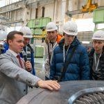 КОНАР пригласил волейболистов челябинского «Динамо» на экскурсию