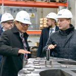 Визит представителей компании Hitachi в Индустриальный парк «Станкомаш»