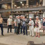 В индустриальном парке «Станкомаш» поздравляют металлургов