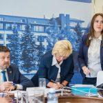 В индустриальном парке «Станкомаш» состоялось заседание совета депутатов Ленинского района