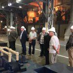 Экскурсия ветеранов в Индустриальном парке «Станкомаш»