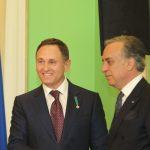 Валерию Бондаренко вручен орден «За заслуги перед Итальянской Республикой»
