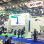Стенд компаний КОНАР и «Гусар» отмечен за лучшее отображение корпоративного стиля на выставке MIOGE 2017