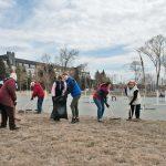 Традициям верны: ветераны и сотрудники индустриального парка «Станкомаш» провели совместный субботник