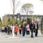 В Индустриальном парке «Станкомаш» состоялся митинг, посвященный Дню Победы