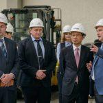 В «Станкомаше» побывал Чрезвычайный и Полномочный посол Республики Корея в РФ Пак Ро Бёк
