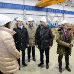 Участники российско-итальянского форума посетили Индустриальный парк «Станкомаш»
