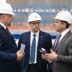 Николай Цуканов в индустриальном парке «Станкомаш»: «Культура производства на самом высоком уровне»