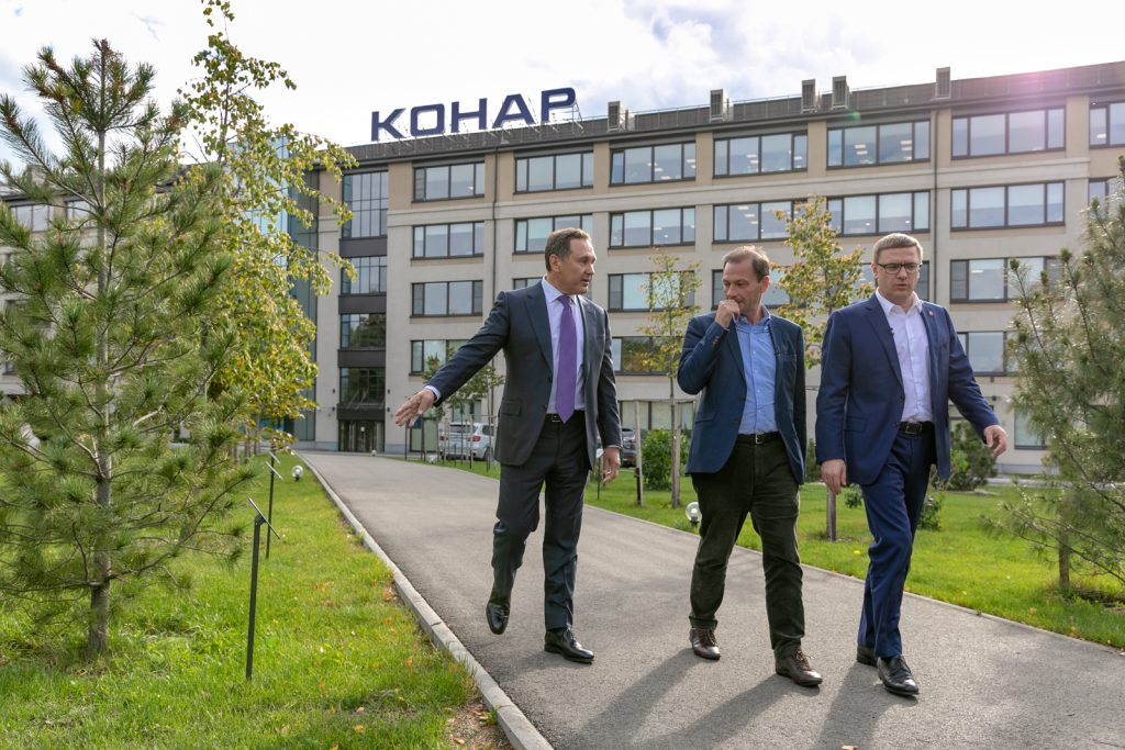 Сергей Брилев в программе «Вести в субботу» рассказал об индустриальном парке «Станкомаш»