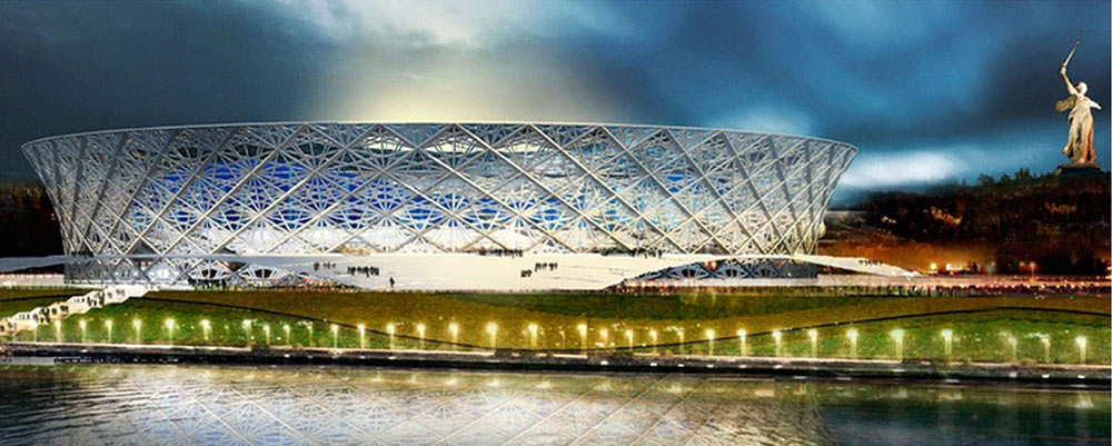 Стадион «Арена Волгоград» к чемпионату мира по футболу 2018, Волгоград
