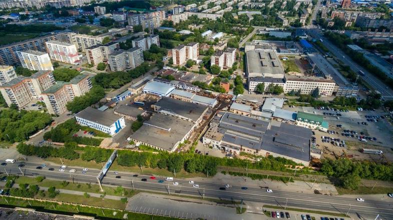 Площадка на пр. Ленина, г. Челябинск, июль 2020