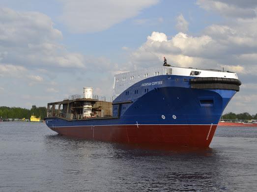 Морской буксир «Капитан Сергеев» спущен на воду